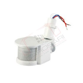 Motion sensor PIR 24V, white