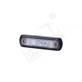 Front marker light (white) with a rubber pad