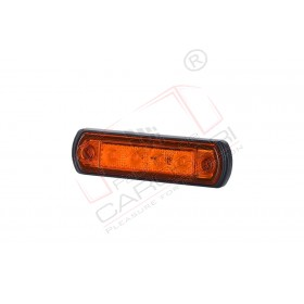 Side marker light (orange) with a rubber pad