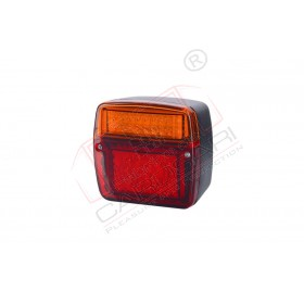 Multifunction rear light with a wide base