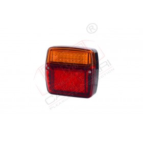 Multifunction rear LED light with 35 LED HOR 58, 12/24v, rear position, brakes, direction indicator, cable 4x0,5mm, length 1m