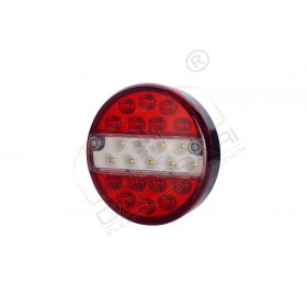 Multifunction rear LED light reverse, fog, with 23 LED HOR 70, 12/24v, cable, 3x0,5mm, 2m, reverse, fog lights