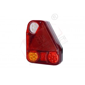 Multifunction rear light with a triangle reflector right