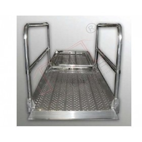 Rampe trecere model PP25X100 capacitate de incarcare/kg / ampatament: 600/ 2500 Latime interna 930mm