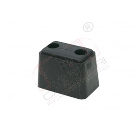 Tampon cauciuc usi spate remorca, semiremorca, buffer, amortizor rectangular 120x85x75 mm