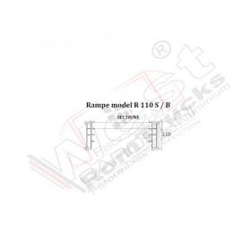Aluminium ramps 3 to - 3,2 m