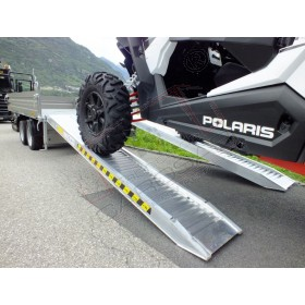 Aluminium ramps with border 2 to - 4 m