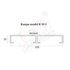 Rampe model R 3030P