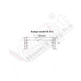 Aluminium ramps 1 to - 2,5 m