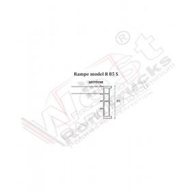 Aluminium ramps 1 to - 3,5 m