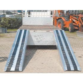 Aluminium ramps 3 to - 3,5 m