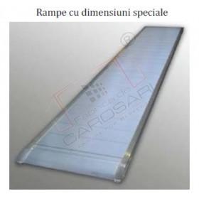 Rampe cu dimensiuni speciale, capacitate de incarcare in functie de tipul de utilizare