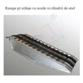 Rampe pt utilaje cu senile si cilindrii de otel cu capacitate de incarcare in functie de tipul de utilizare