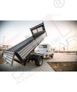 KIT Bena basculabila hidraulic Iveco Daily 35C obloane de otel ampatament 3750mm 4000 x 2100 x 400 mm – 2,6 mc